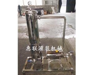 防冻液车用尿素玻璃水过滤机
